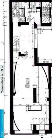 Obj.-Nr. 02210301 - Grundriss Verkaufsfläche