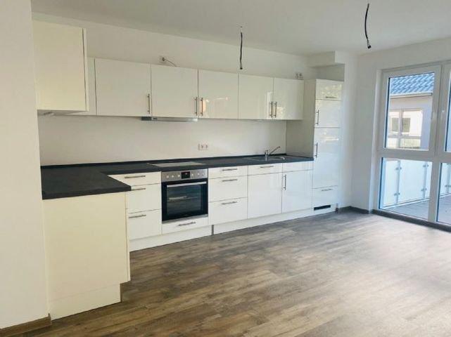 Küche und offener Wohnraum