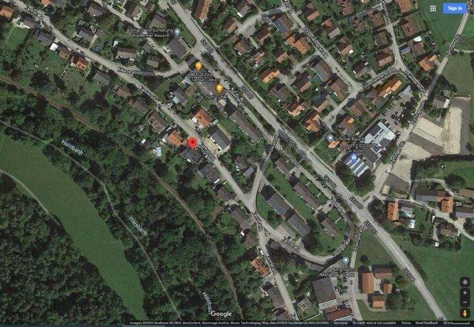 Der Lageplan aus Google Maps