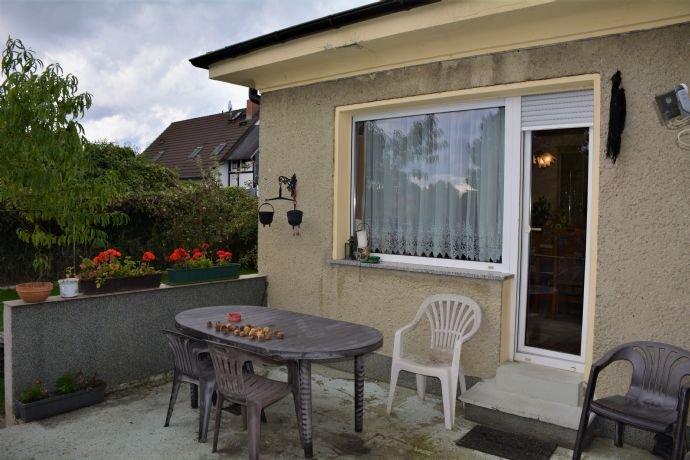Terrassenzugang zum Wohnzimmer