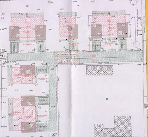 Zeichnung Bauvorhaben