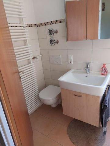 WC in Dusche
