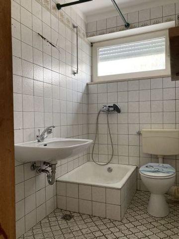 Dusche 1-Zimmerappartement frei!