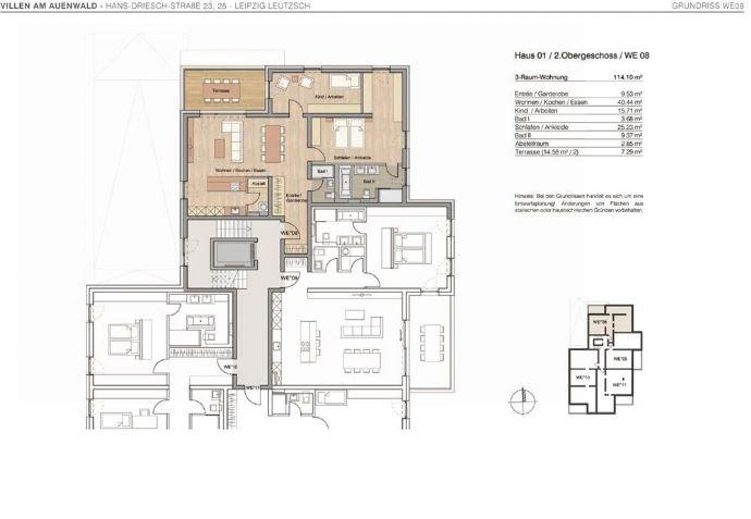 Villa 1 - 2.Obergeschoss - WE08