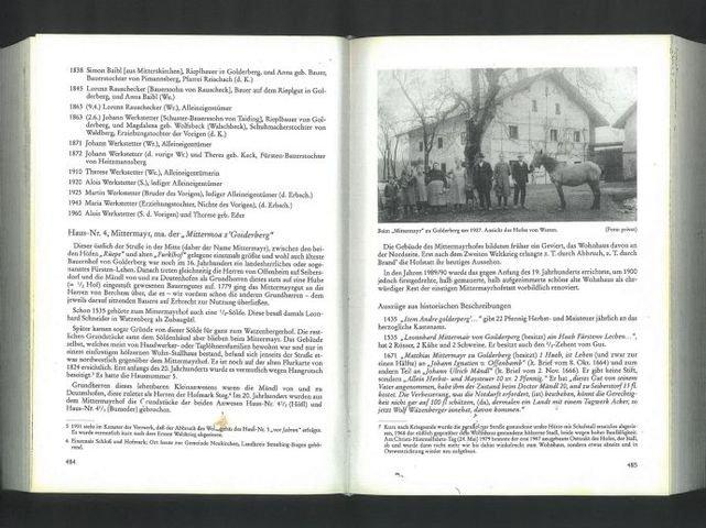 Buchauszug - Seite 484+485