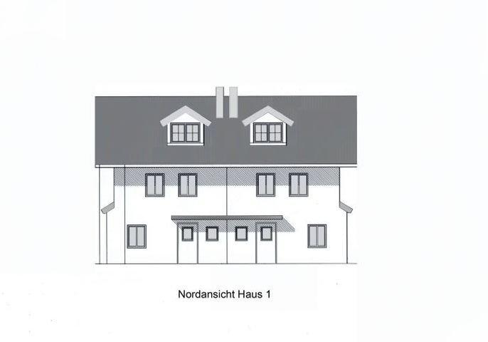 Nordansicht Haus 1