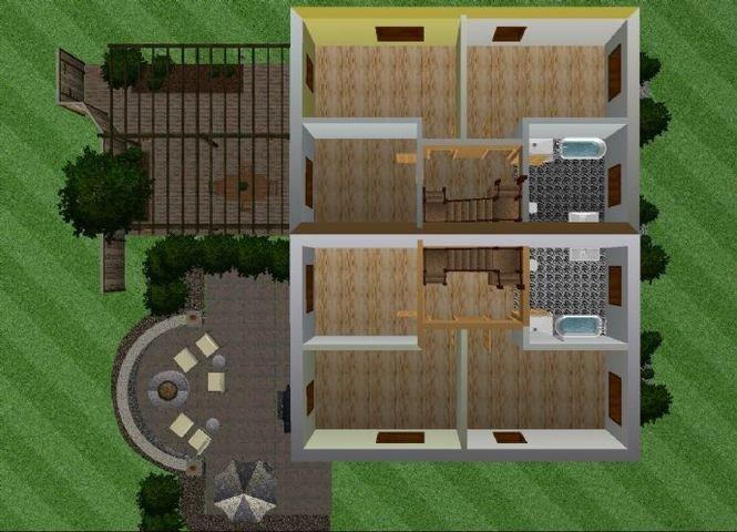 Grundriss Obergeschoss I