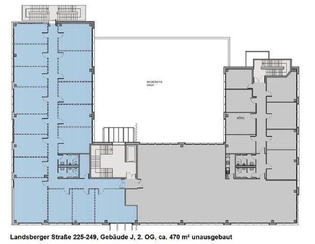 Landsberger Straße 225-249, Gebäude J, 2. OG, ca.