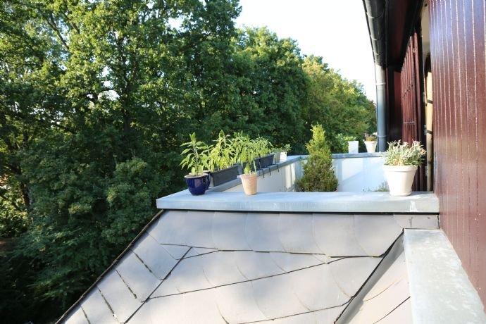 Balkon Ansicht Küche