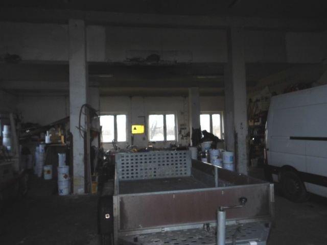Garage- Ostseite -13,1m x11,4m