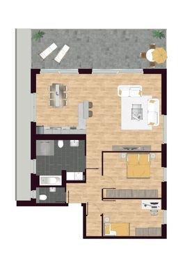 Luisen Suiten Grundriss W07