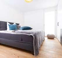 Rosengarten Schlafzimmer Musterwohnung