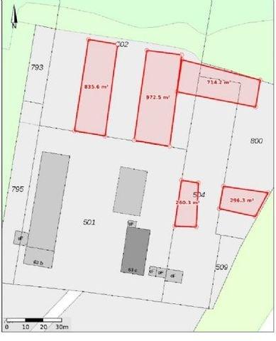 Lage d.Verfügbaren Flächen,m²f sind Abweichend