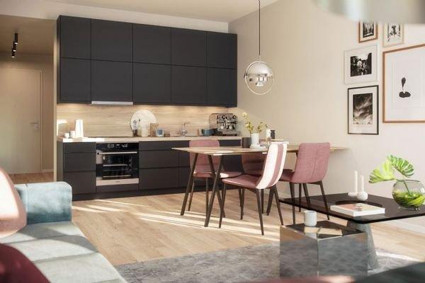 Beispiel Küche / Wohnzimmer