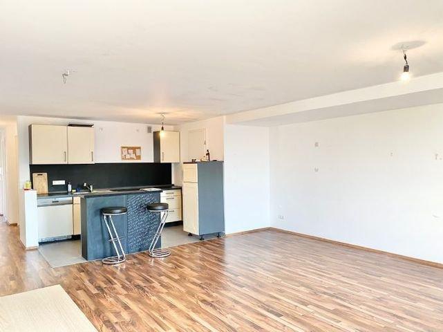Wohn und Kochbereich Ansicht 2