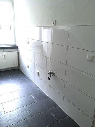 Küche mit Waschmaschienenanschluss