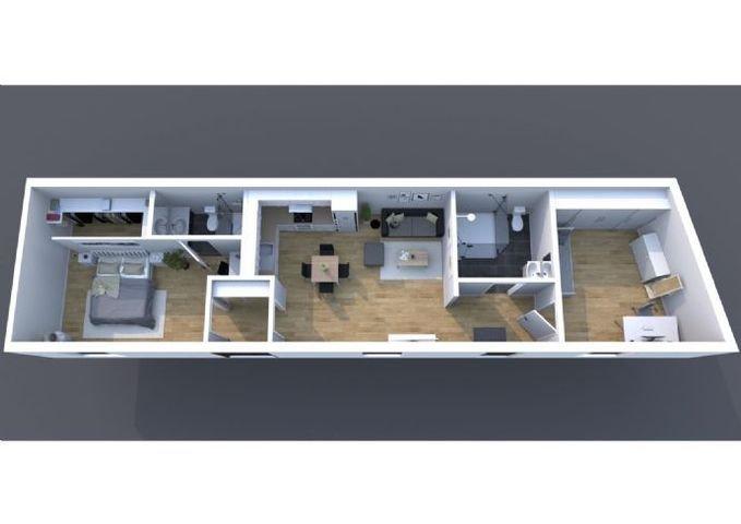 Einheit 3 Hinterhaus