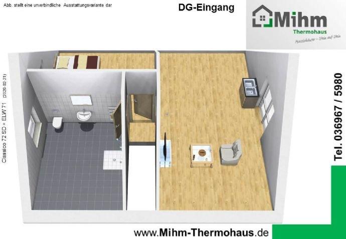 Mihim-Thermohaus_Classico72SD+ELW71_DG-Eingang