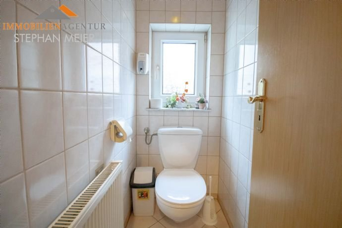 Getrennte WC-Anlagen im Erdgeschoss