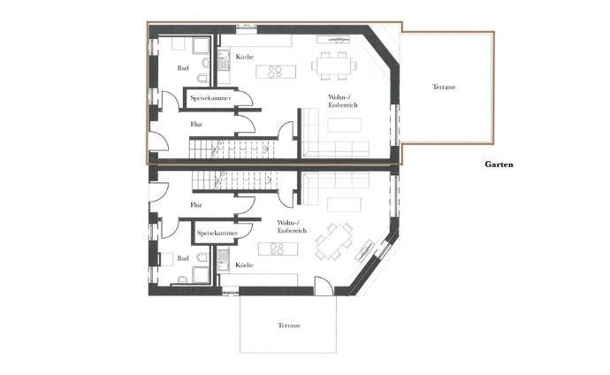 Haus 1 - Erdgeschoss