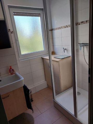 Dusche WC mit Fenster
