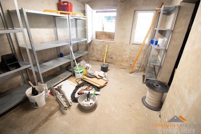 Werkstatt – ein Heizraum  wäre hier möglich