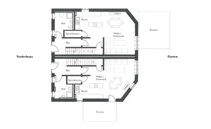 Planung Grundriss Erdgeschoss