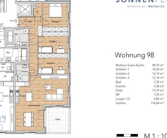 Wohnung 98