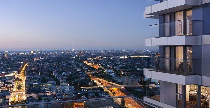 Aussicht über Berlin