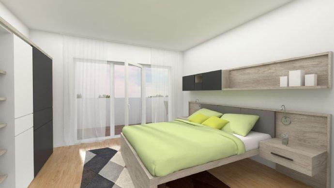 Schlafzimmer mit Dachterrasse 2