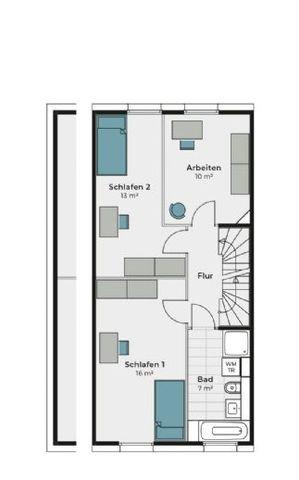 Obergeschoss Alternative