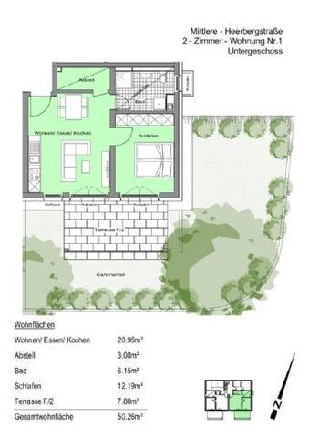 WE 1 mit Terrasse und Garten