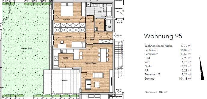 Wohnung 95