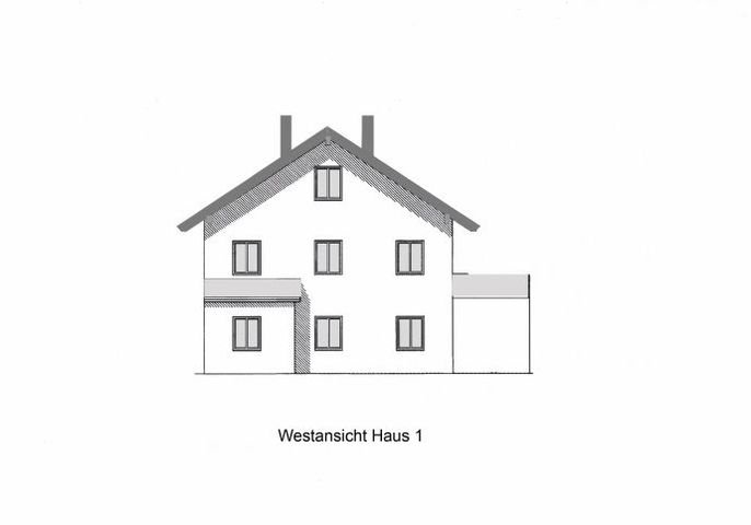 Westansicht Haus 1
