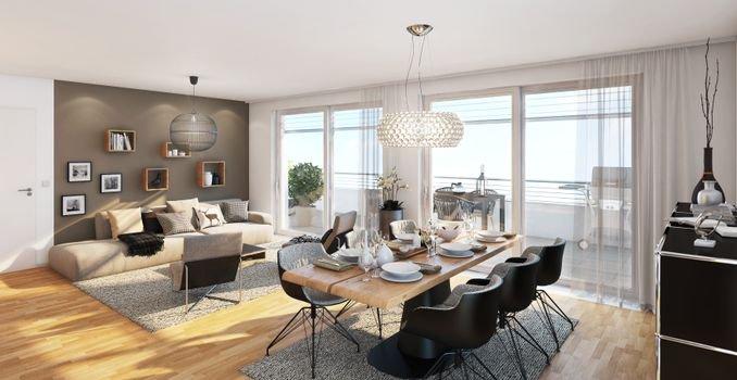Wohnen NOVUM Penthouse