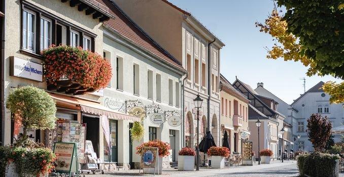 historische Altstadt in Zossen