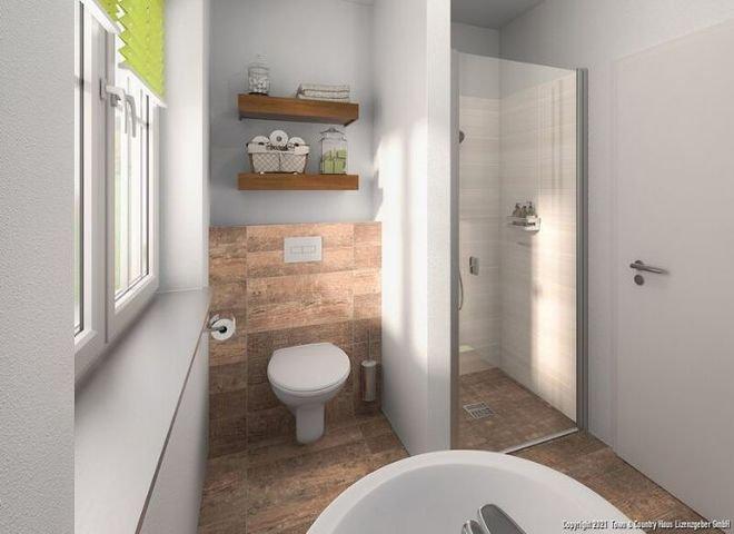 Gäste-WC-Dusche