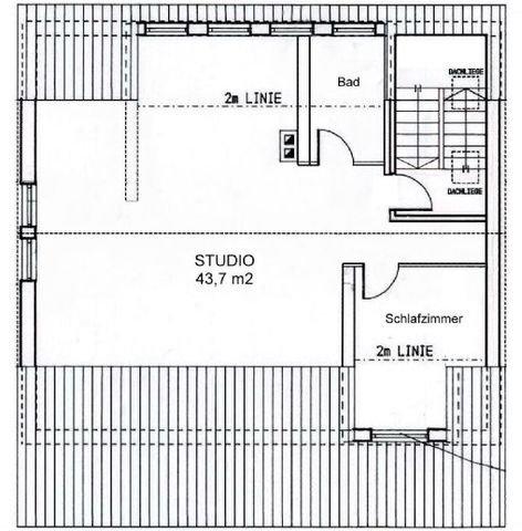 Grundriss-Struktur: Wohnung DG