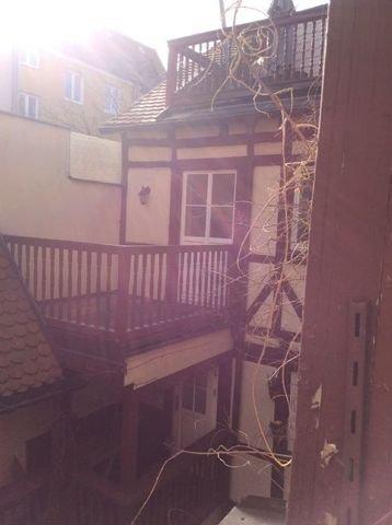 Balkon von Zimmer 3