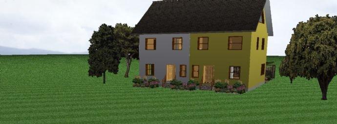 Doppelhaus Beispiel Eingang