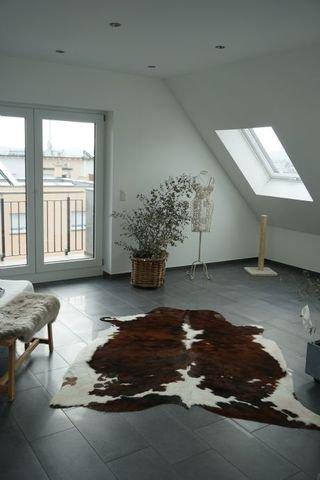 Studio mit überdachtem Balkon