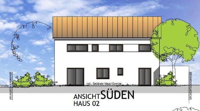 Ansicht Süden - Haus 2