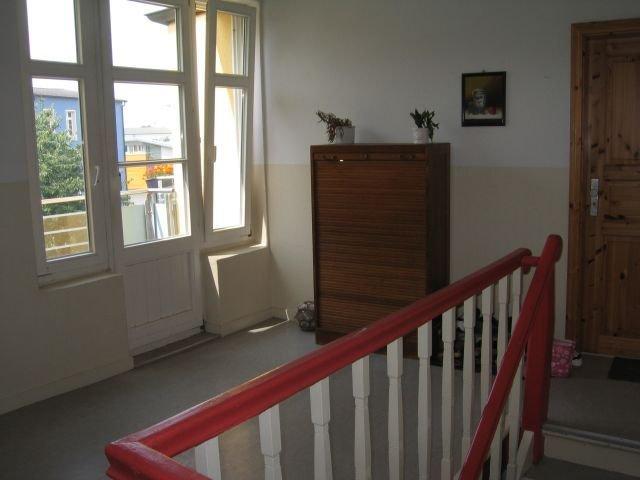 Zugang zum Balkon vom Treppenhaus