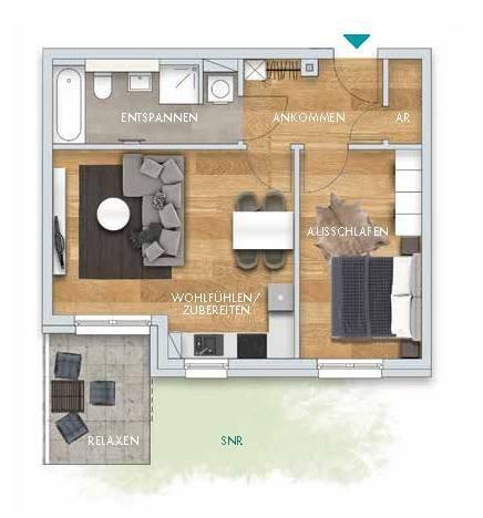 gestalteter Grundriss L10WE08.03 Terrasse