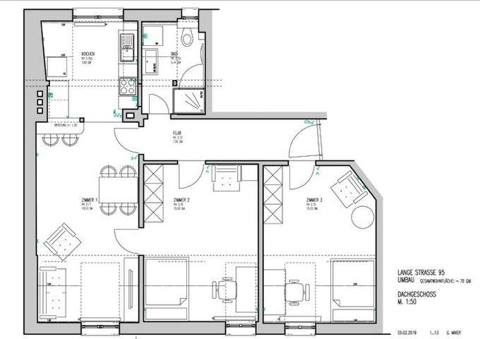LANGE STRASSE-95 Wohnung 8