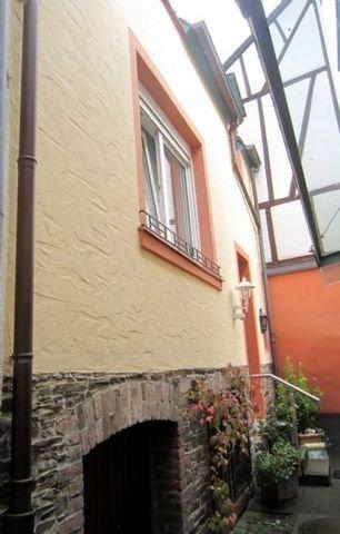 Eingang zum separaten Gästehaus