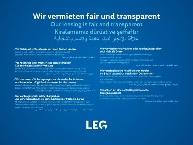 Fair und transparent