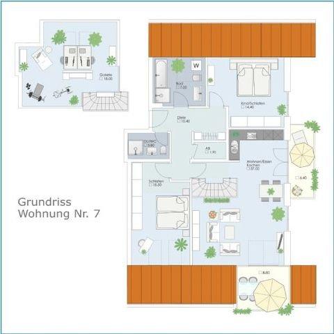 Grundrisse Wohnung 7 mit Galerie