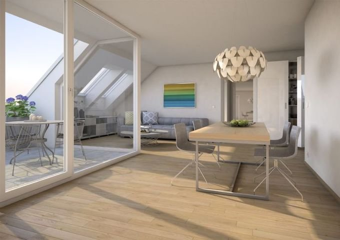 Beispiel 4-Zimmer-Dachwohnung