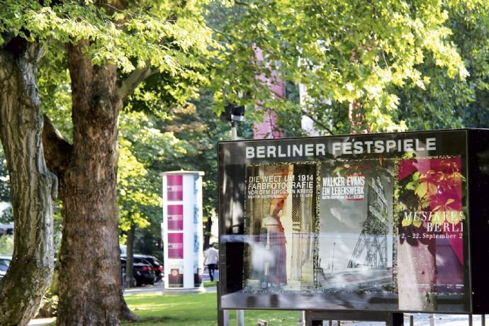 um die Ecke - Haus der Berliner Festspiele